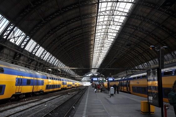 pociągi Holandia
