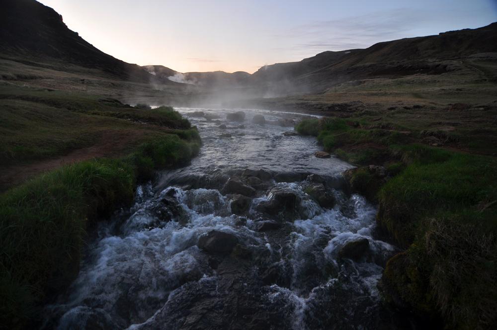 Gorąca rzeka