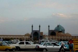 Iran-taksówki-i-meczet [MINIATURY]