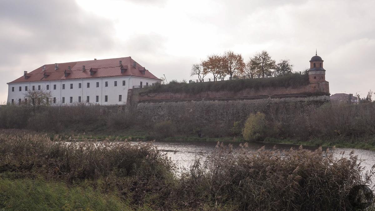 Zamek Ostrogskich w Dubnie