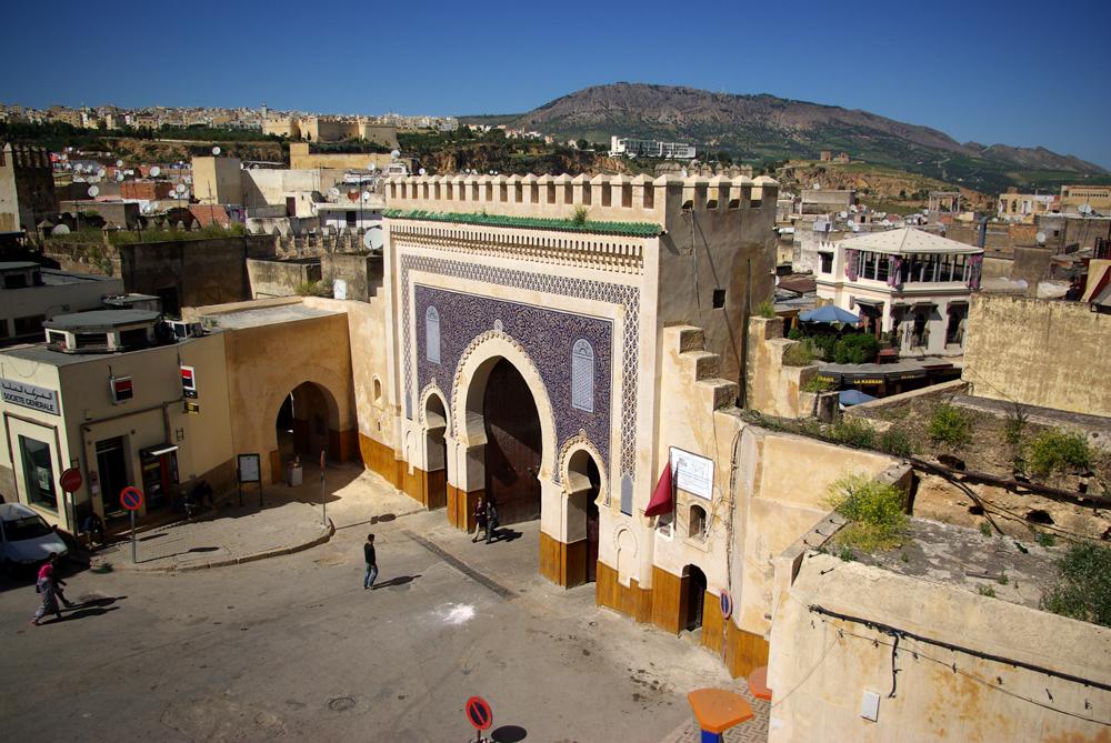 Bab Bu Dżalud - jeśli chcesz coś załatwić w Fezie, musisz przyjść tutaj