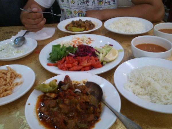 jedzenie w irackim kurdystanie