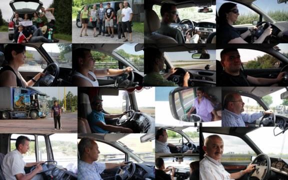 kierowcy autostop