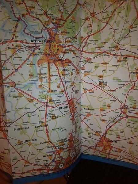 mapa antwerpii