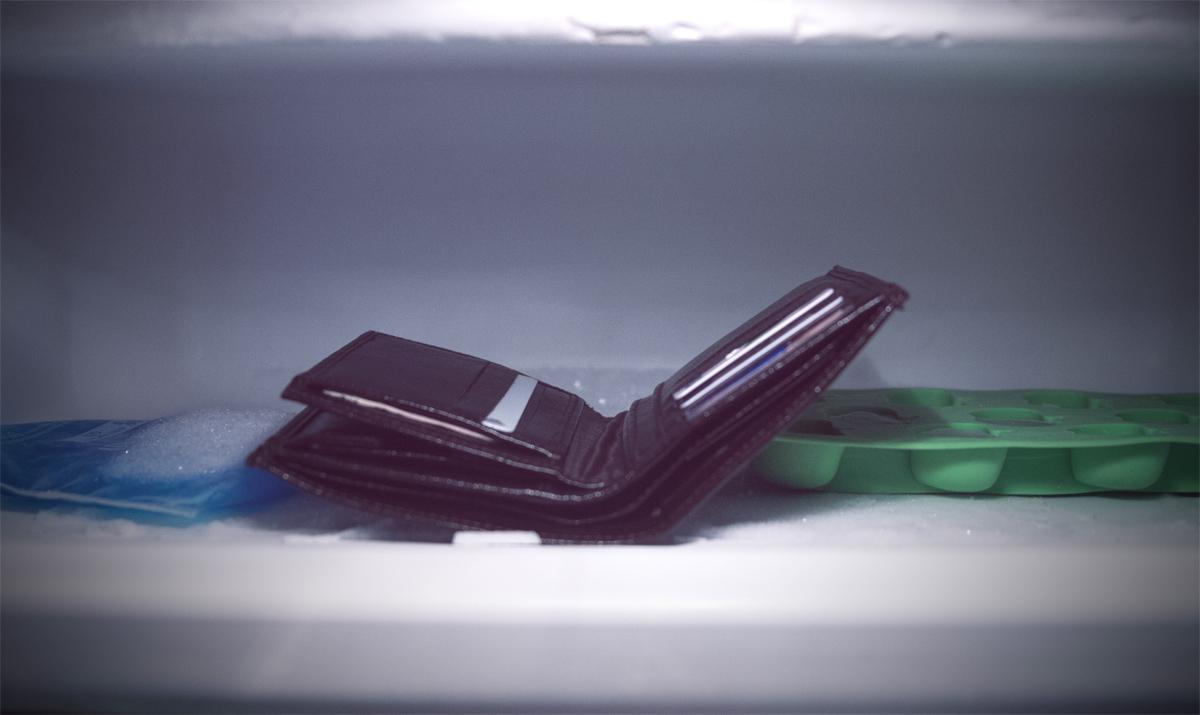Wyrzuć portfel i zobacz co się stanie