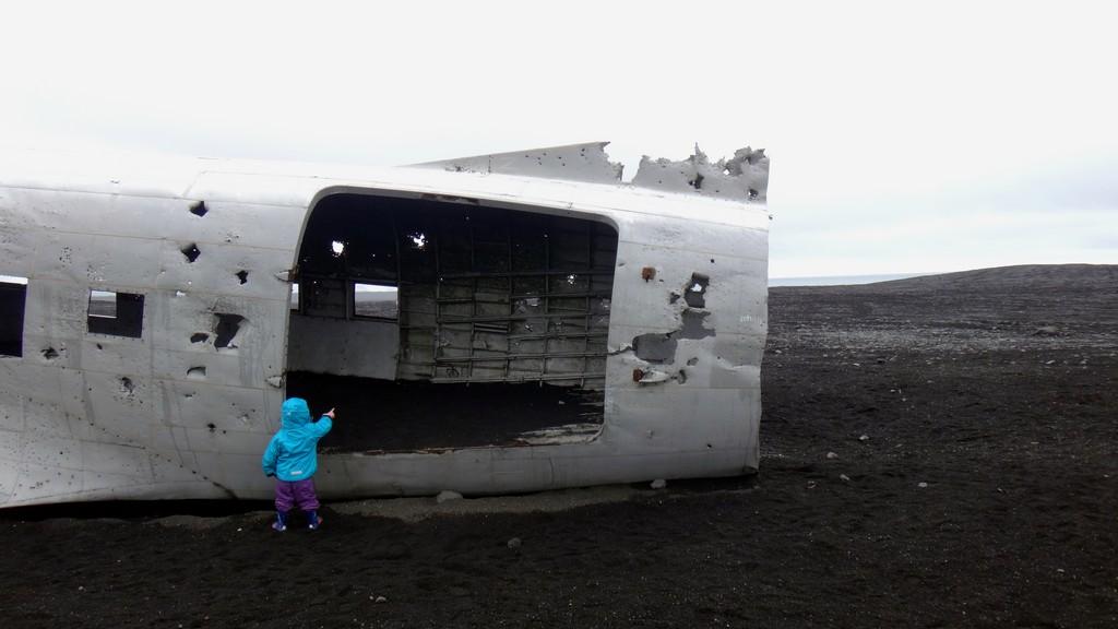 samolot islandia