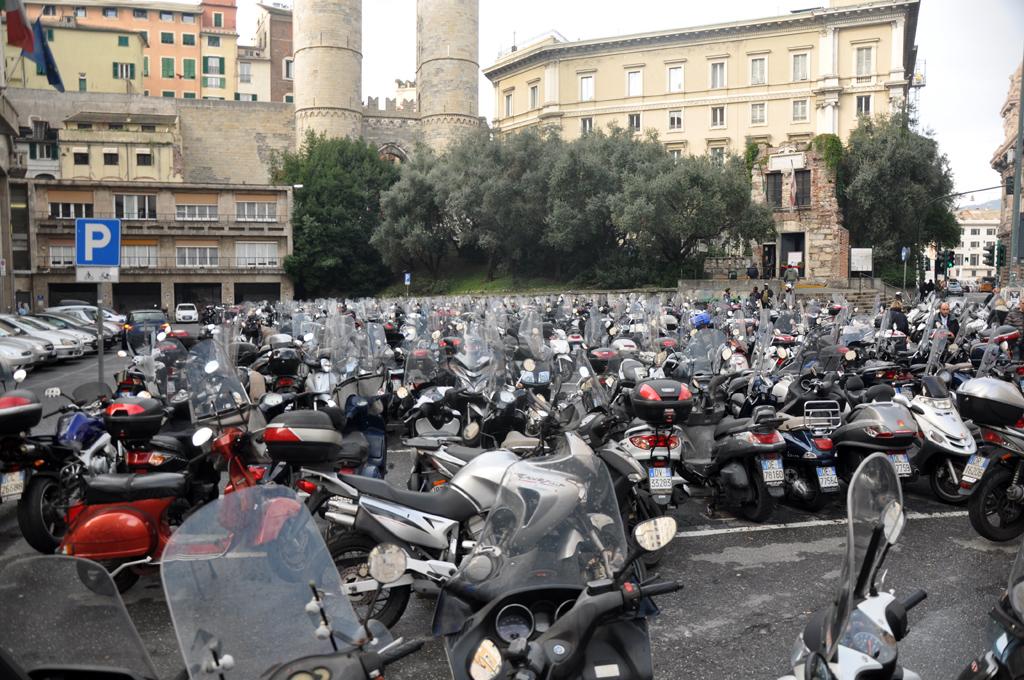 Wszechobecne włoskie skutery
