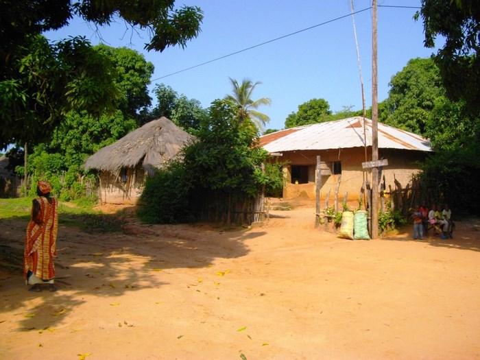 wioska afrykanska