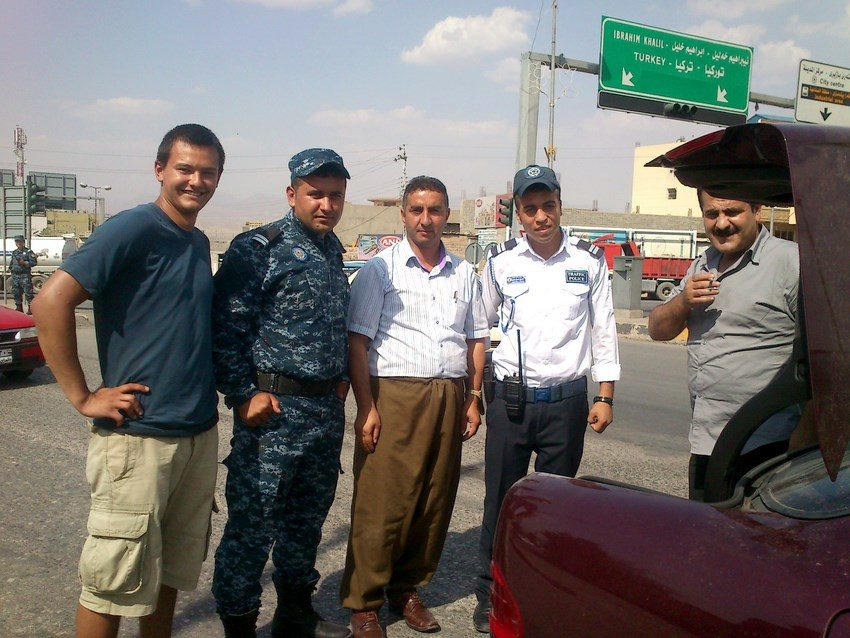 autostop w Kurdystanie