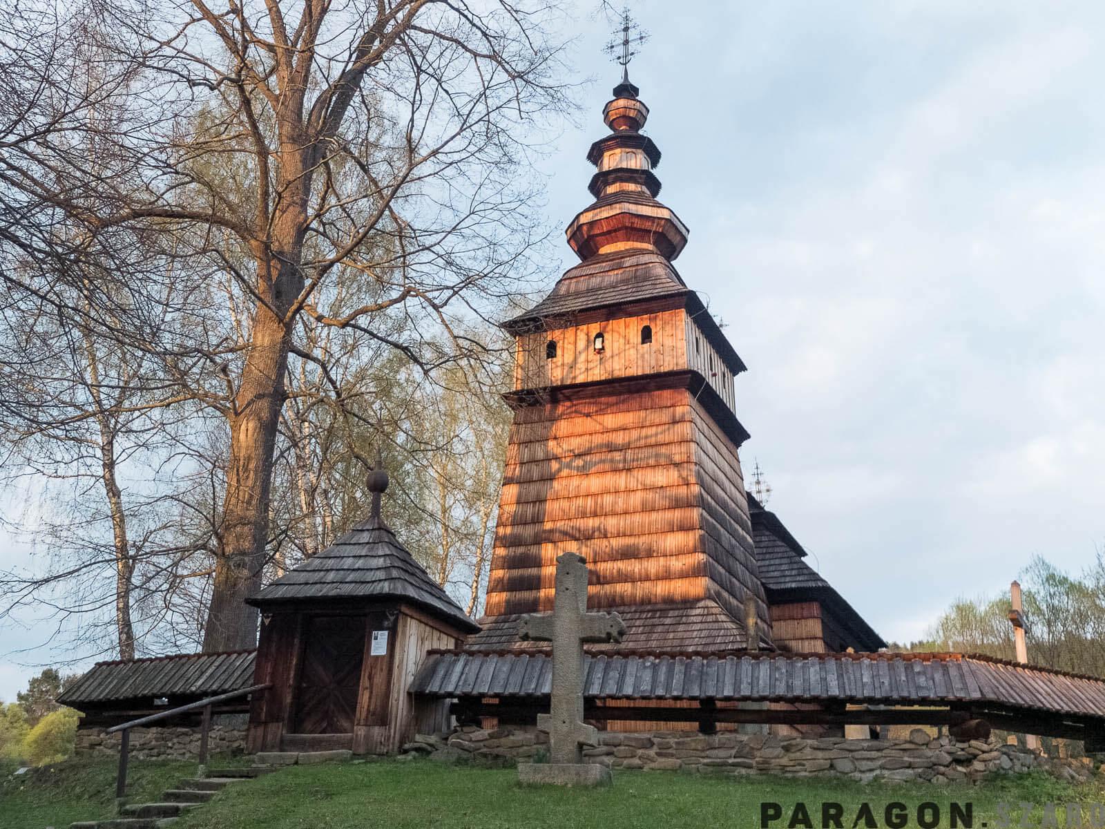 łemkowyna cerkwie