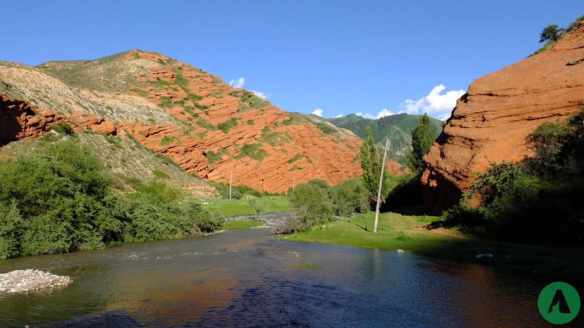 gory kirgistan