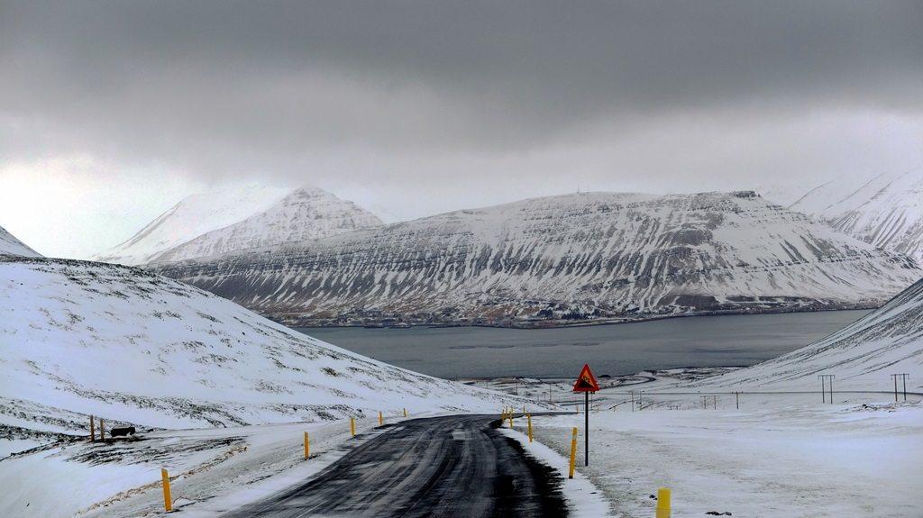 Islandia zimą. Kilka wietrznych dni na Westfjords
