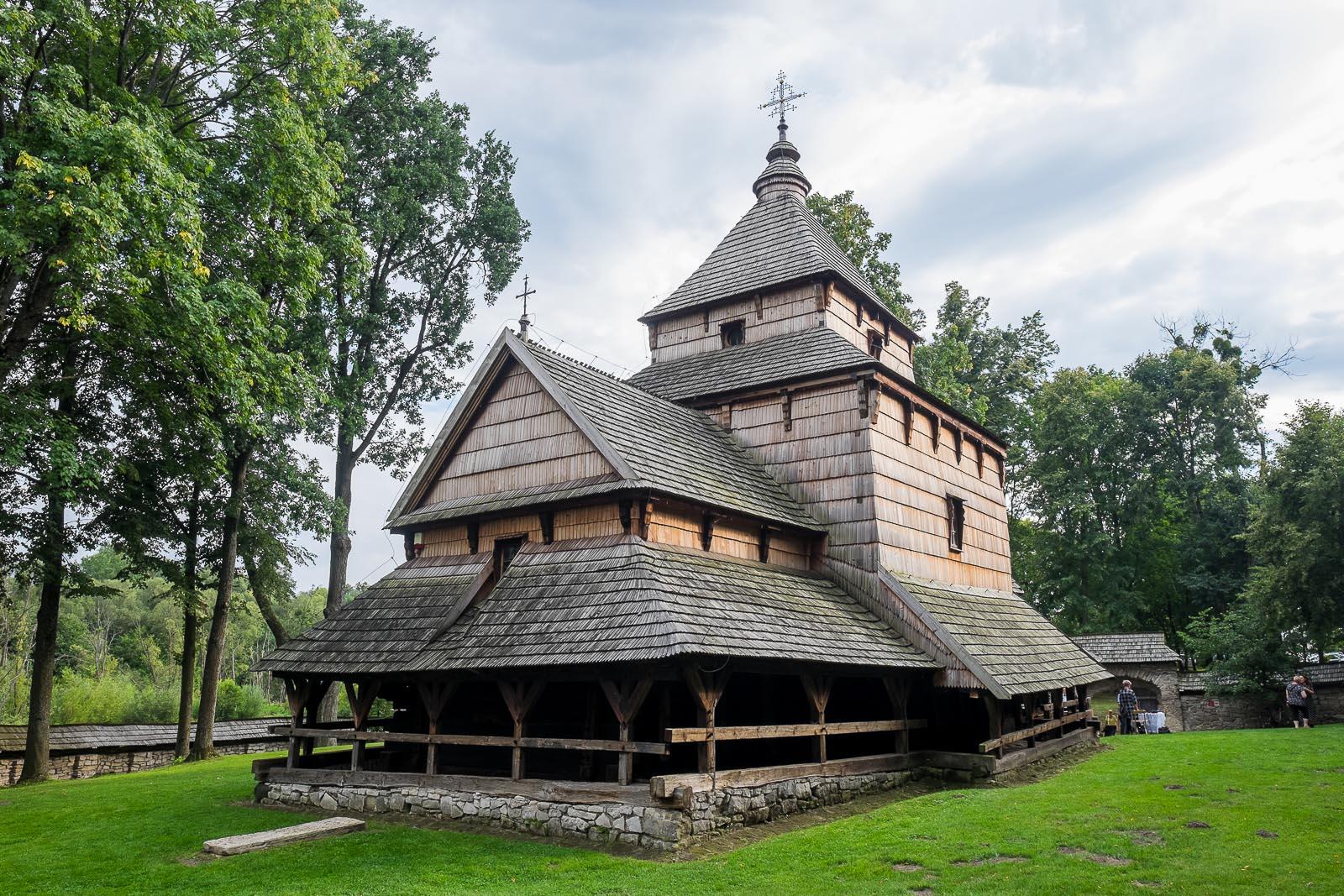 10 ciekawostek o najstarszej drewnianej cerkwi w Polsce