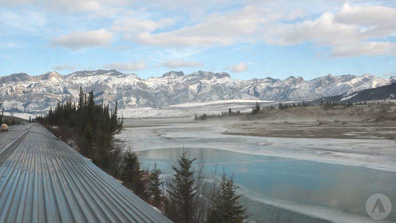 Pociągiem przez Góry Skaliste