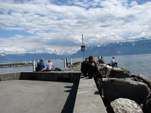 autostopem do szwajcarii