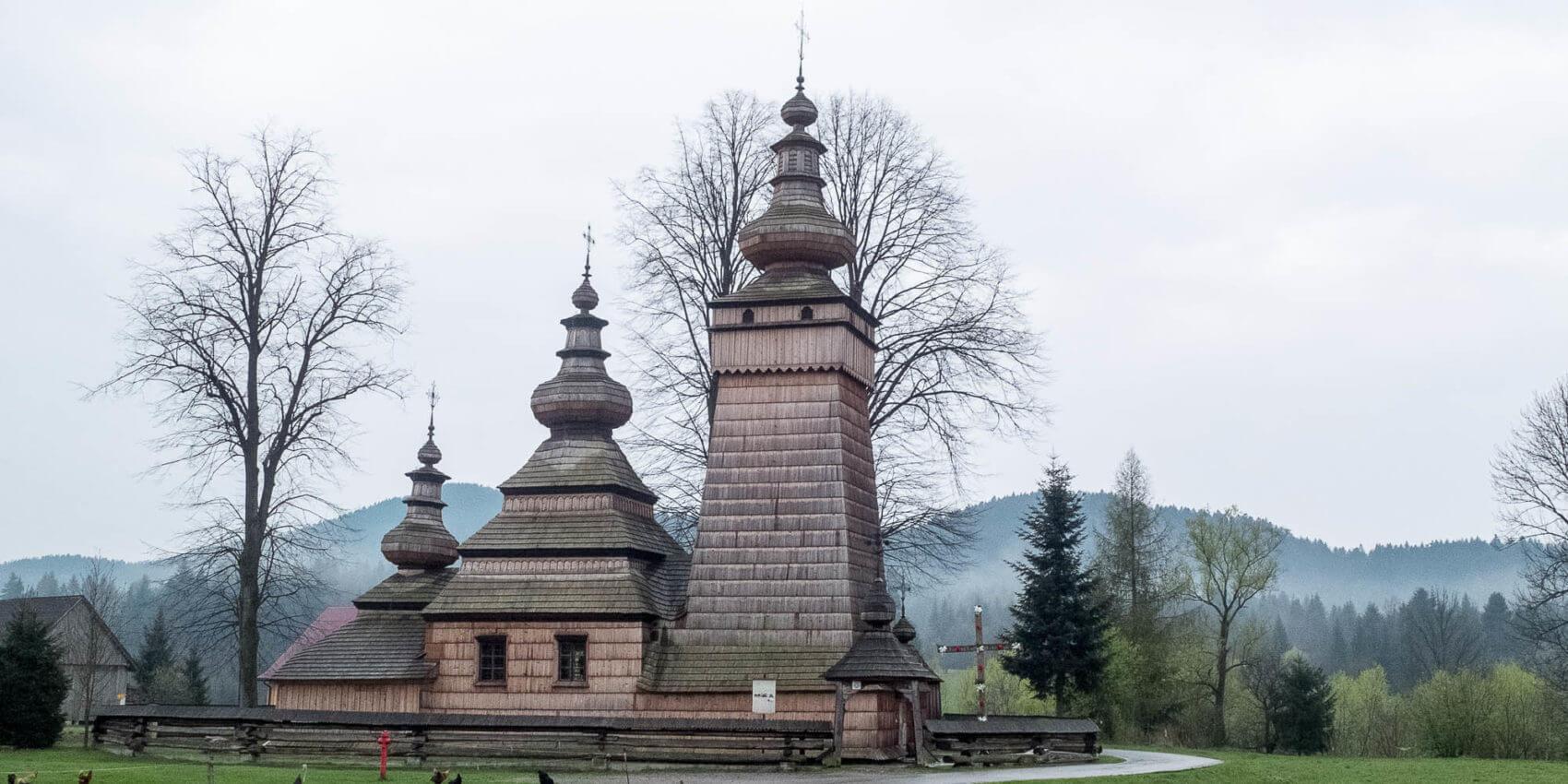 Co widzimy patrząc na łemkowską cerkiew? Krótki przewodnik po architekturze