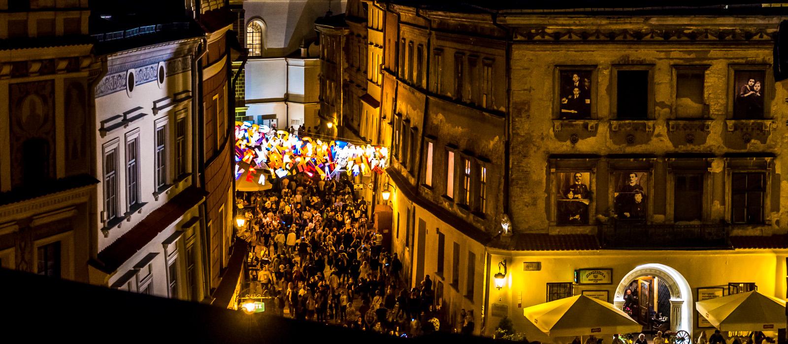 Przynajmniej jedną noc w roku trzeba spędzić w Lublinie. Właśnie tę Noc