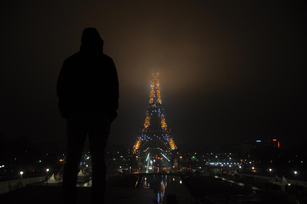 Inne spojrzenie na wieżę Eiffla