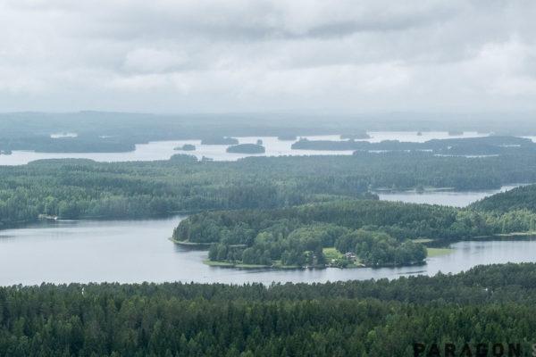 panorama pojezierze finskie