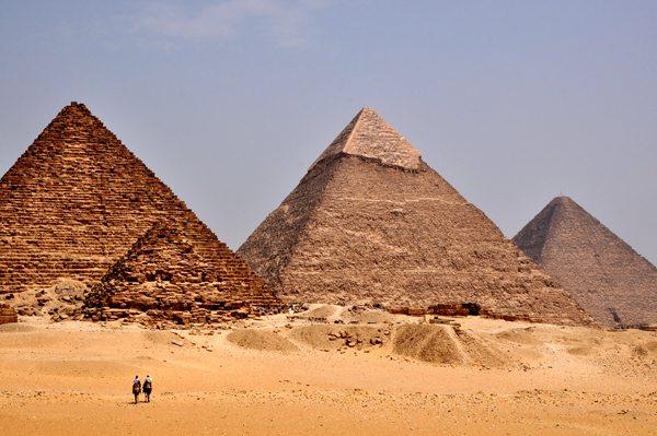 Porewolucyjna majówka w Egipcie