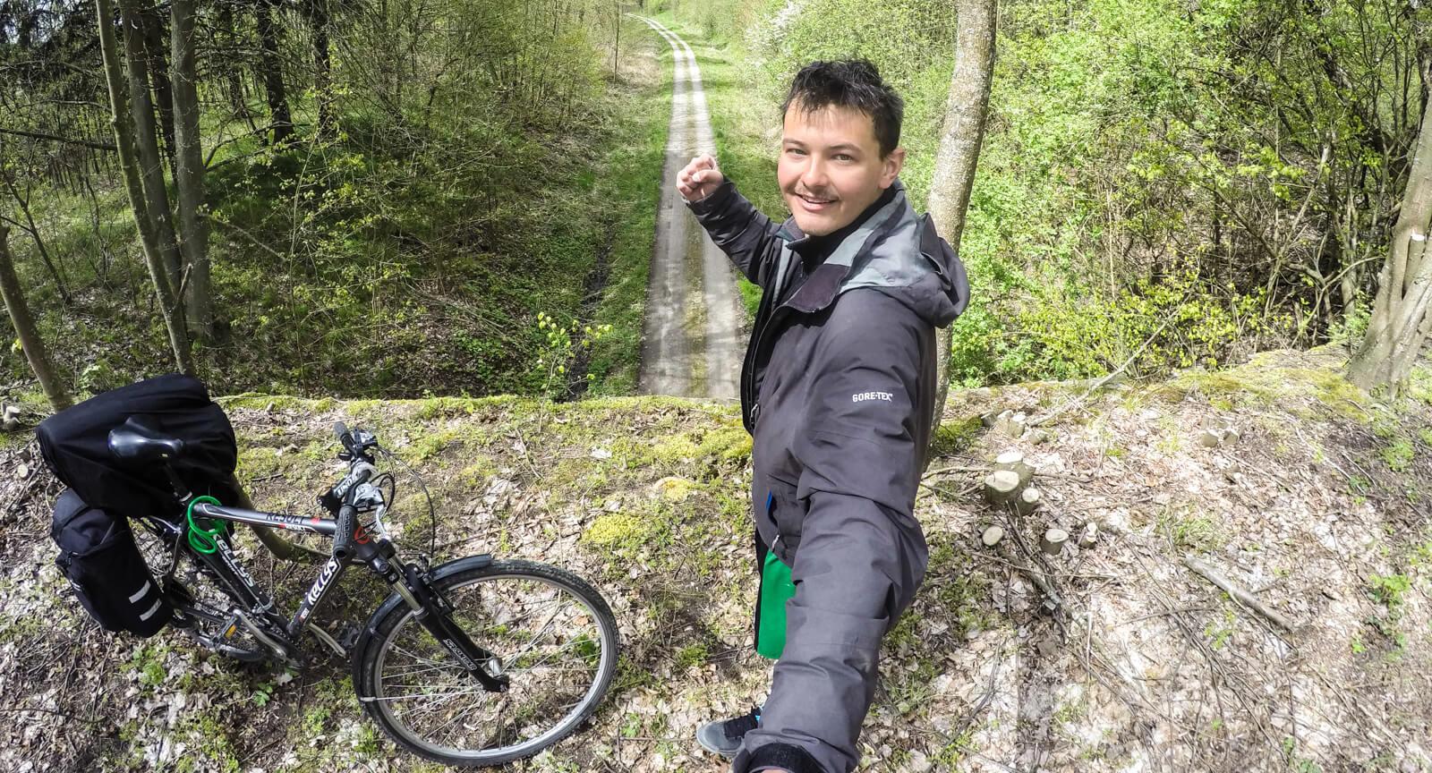 Przeszedłem, przejechałem wschód Polski. Trasa i koncepcja podróży
