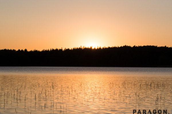 sunset savonia finland